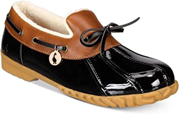 c223af6c10e The Original Duck Boot Womens Patty Round Toe Loafers