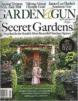 Garden and Gun Magazine (August/September, 2016) GARDE