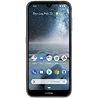 Nokia 4.2 - Android One (Pie) - 32 GB - 13+2 MP 双摄像头 - 双 SIM 解锁智能手机(at&T/T-Mobile/MetroPCS/Cricket/H2O)TA-1133 黑色