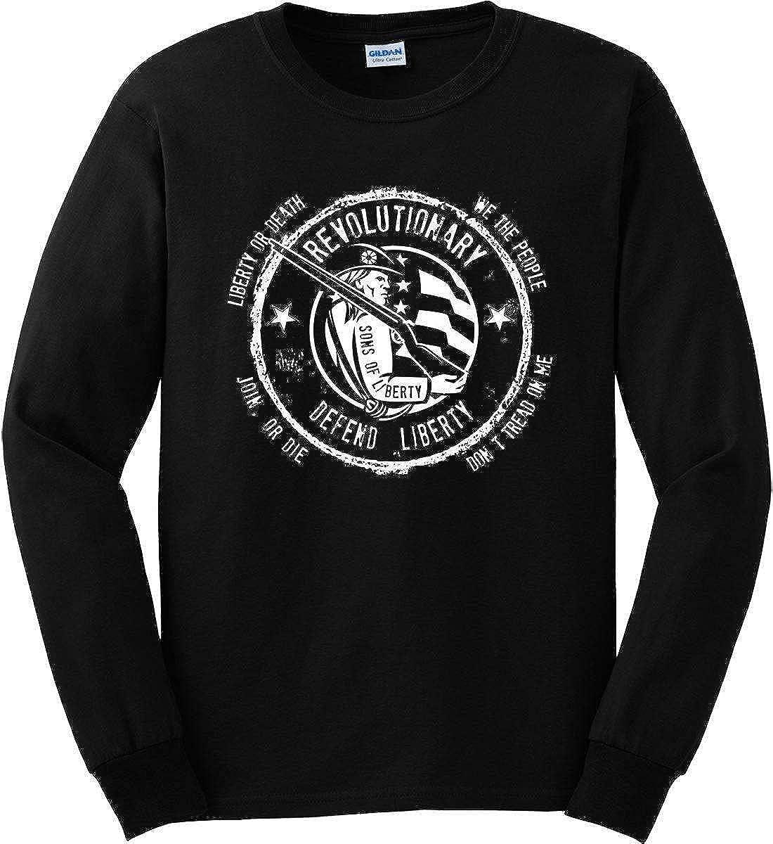 Sons Of Liberty Revolutionary Long Sleeve Shirt Defend Liberty