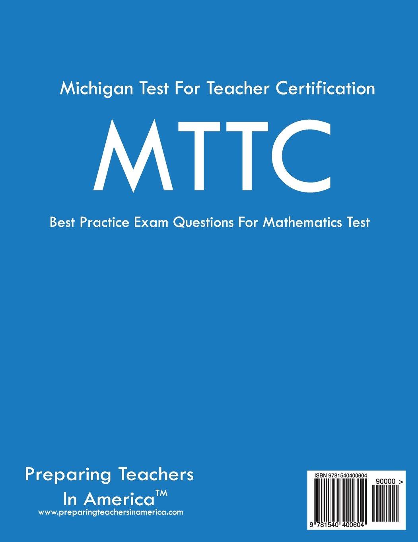 Mttc Mathematics 022 Mttc Math Michigan Test For Teacher