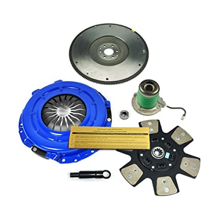 Amazon.com: EFT STAGE 3 CLUTCH KIT+SLAVE+FLYWHEEL 05-10 FORD MUSTANG GT SHELBY BULLITT 4.6L: Automotive