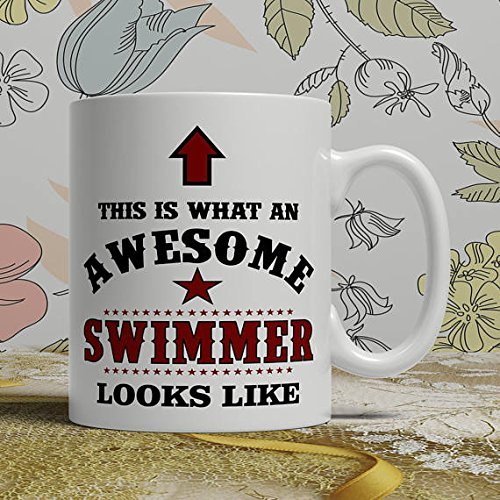Square One Organic Vodka (This is What An Awesome Swimmer Mug, Swimmer Coffee Mug, Swimmer Gift idea, Swimmer Gift Mug, Swimmer Mug, Personalized Mug, 11oz 15oz)