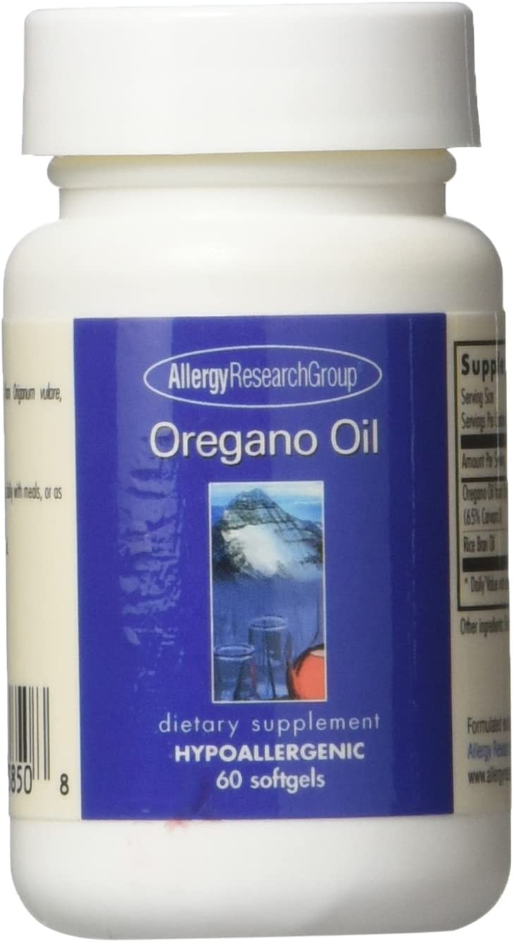 Allergy Research Group Oregano Oil – 60 Softgels