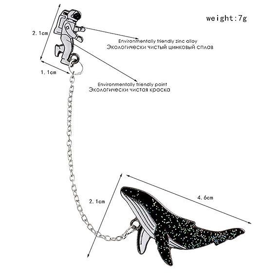 Amazon.com: Essencedelight - Broche de encaje con diseño de ...