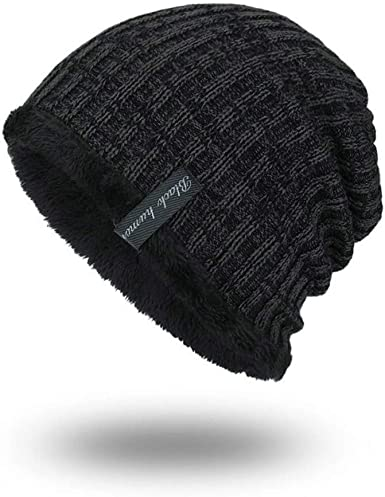 Thick Women Men Beanie Hat Warm Winter Knit Cap For Most of Adult US Stock