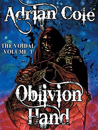 book cover of Oblivion Hand