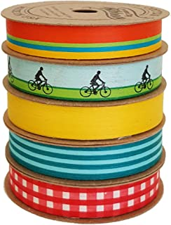 """product image for Cream City Ribbon Artisan Curling Ribbon Collection,""""Summer Assortment"""""""