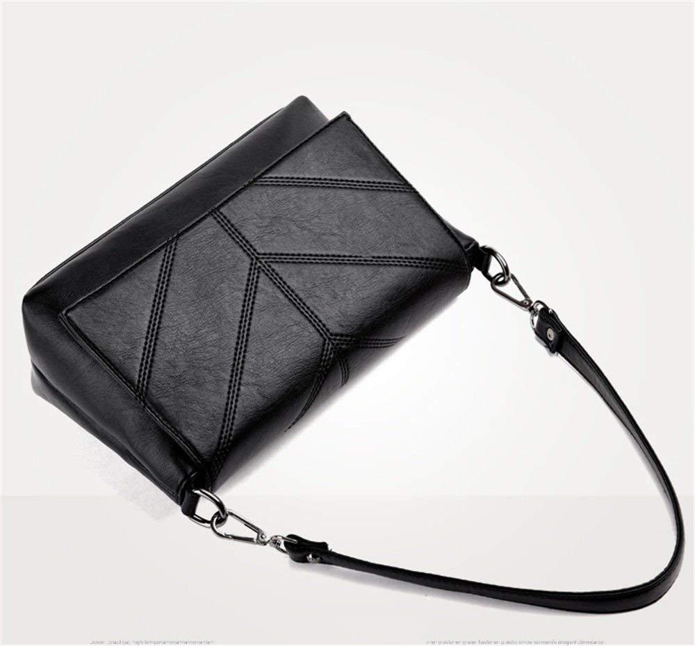Mode Frauen Umhängetaschen Stilvolle Stilvolle Stilvolle Umhängetasche Fashion Lady 's Single Umhängetasche Handtasche (Farbe   schwarz, Größe   29x11x19cm) B07PXJBFW7 Umhngetaschen Qualität 538683