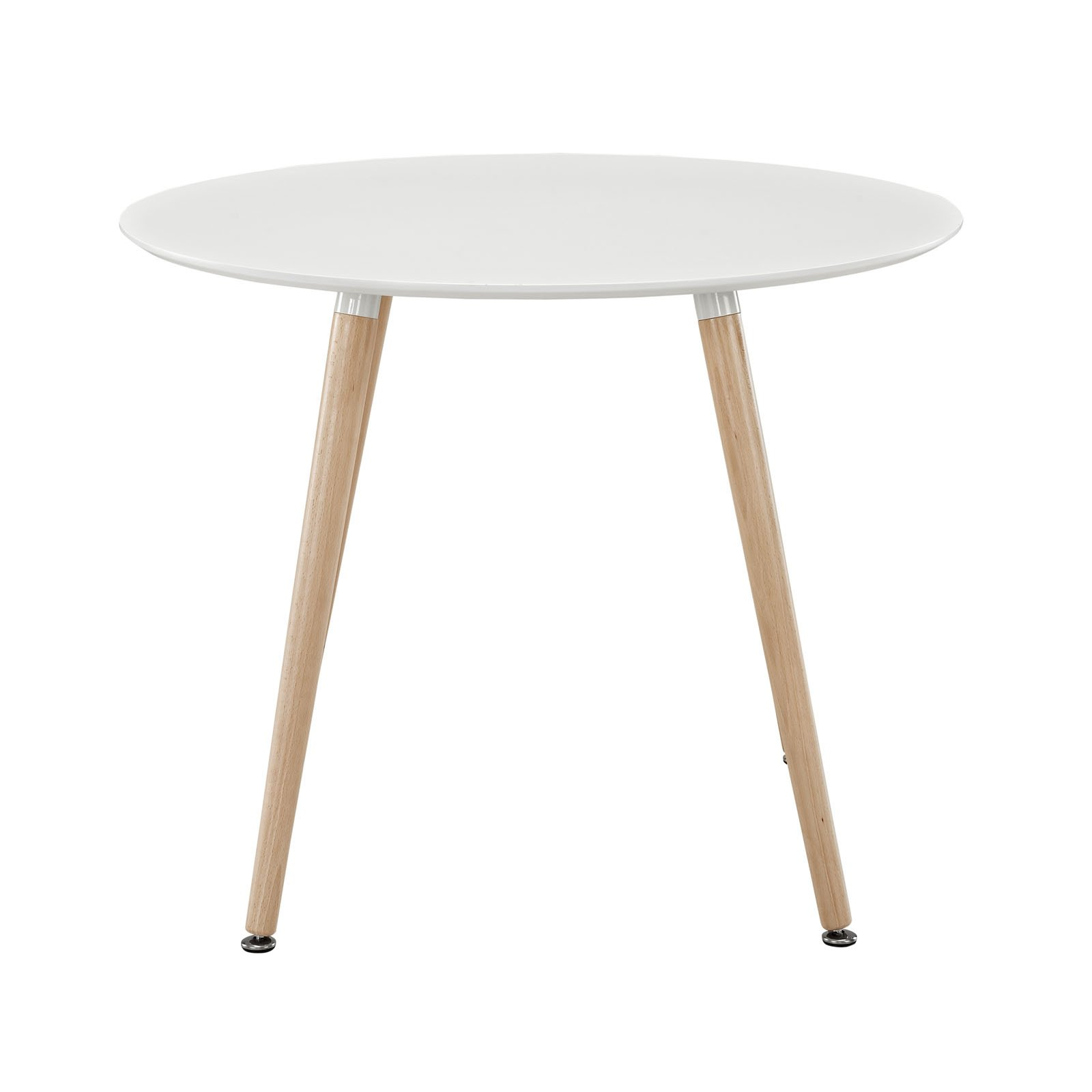 Modway Track Circular Dining Table in White by Modway (Image #2)
