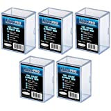 Ultra Pro 2-Piece Clear Card Storage BoxHolds 150 Standard Cards3 Boxes