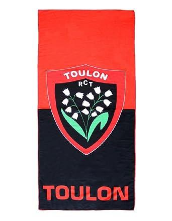 Serviette De Bain Rugby.Serviette De Plage Rugby Rugby Club Toulonnais Rct