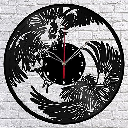Rooster Decorative Fan -