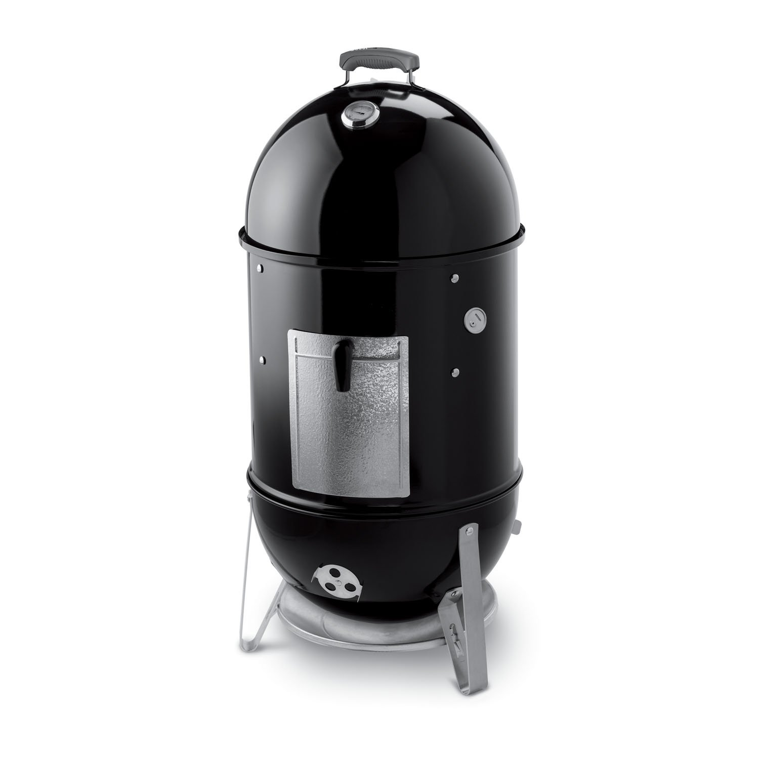Weber Smokey Mountain Cooker 18 Inch Smoker - best smokers for beginners