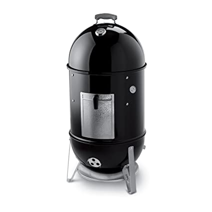 Weber Smokey Mountain Smoker >> Amazon Com Weber Smokey Mountain Cooker 18 Inch Smoker Garden