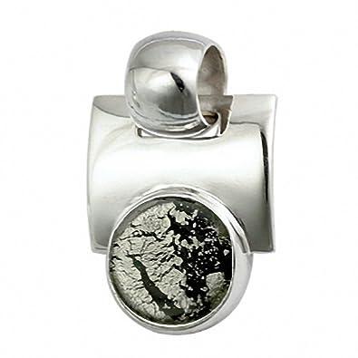 Gabriella Nanni, Pendant in 925 silver with Murano glass -