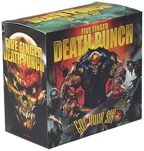 five finger death punch got your six cd covers. Black Bedroom Furniture Sets. Home Design Ideas
