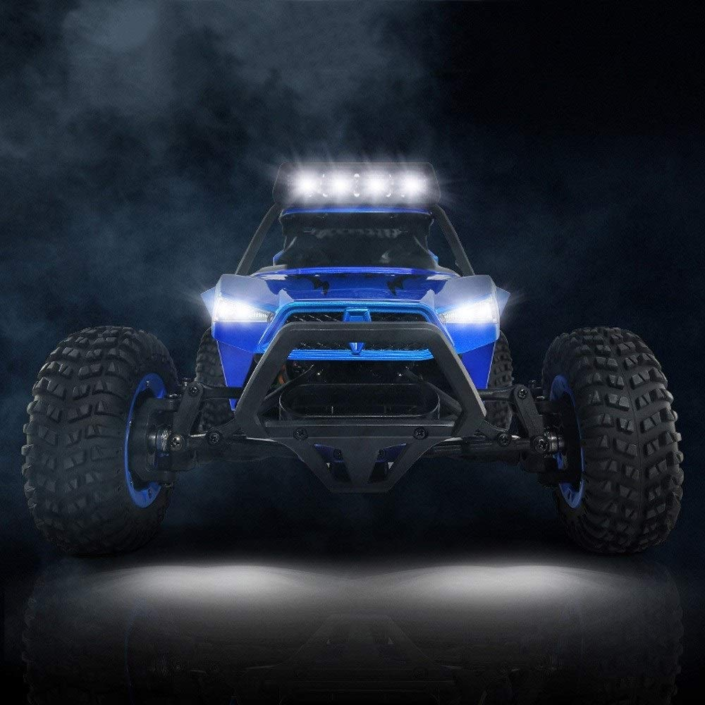 TBFEI 1/12 All Fields Drift RC Racing Car RTR Toy Christmas Birthday Dream Gift for Children and Adults-38.52318cm 4WD 45Km/k High Speed RC Violent Off-Road Racing (Color : Blue) by TBFEI (Image #7)