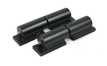Heavy Duty Gate Hinge Pair   7u0026quot; Barrel Style 900lb Capacity   Weld On  Install