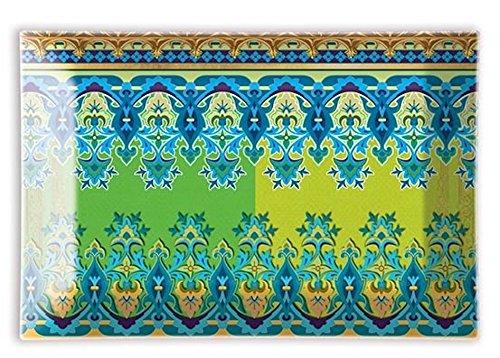 Michel Design Works Rectangular Glass Soap Dish, Lemon Verbena - Nature Soap Dish