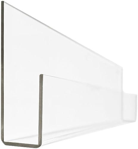 Peekaboo Clear Acrylic Shelves 24 – Set of 2