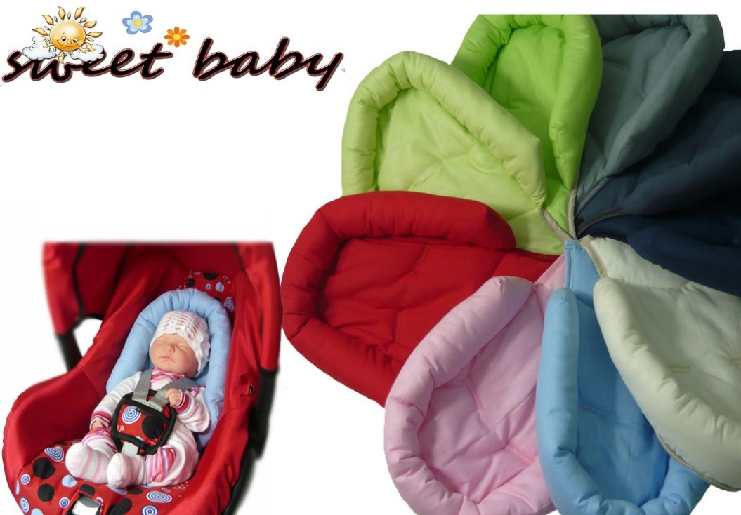 R/ömer and other Newborn like Maxi Cosi Universal Reducer Cushion Sweet Baby ** LIGHTBLUE ** SOFTY Reducer for Baby Car Seat 0//0