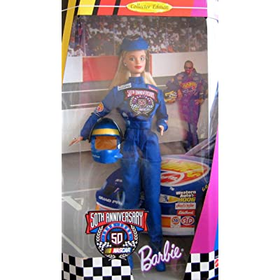 50th Anniversary Barbie 1948-1998 Nascar Collector Edition: Toys & Games