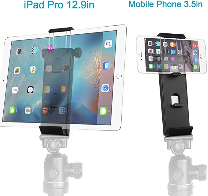 Vikdio Phone iPad Pro Tripod Mount Adapter | Soporte para Tableta ...