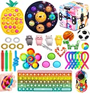 Fidget Packs, Among Us Pop Its,Fidget Toy Pack Fidget Pack Fidget Toys,Sensory Toys Anxiety Toys ADHD Toys Fid