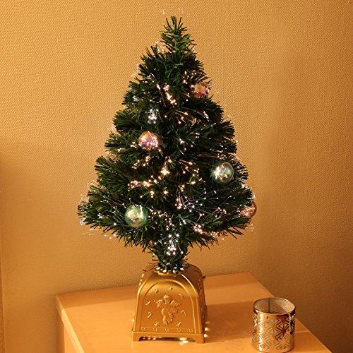 Künstlicher Weihnachtsbaum mit Verzierung und Beleuchtung, von Festive Lights (Bunte Kugeln)
