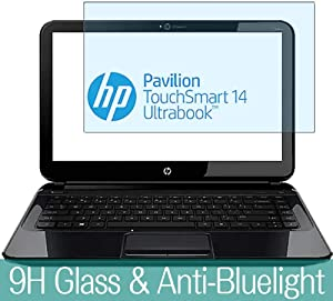 Synvy Anti Blue Light Tempered Glass Screen Protector for HP Pavilion TouchSmart 14-b100 / b109wm / b151tu / b133tx 14