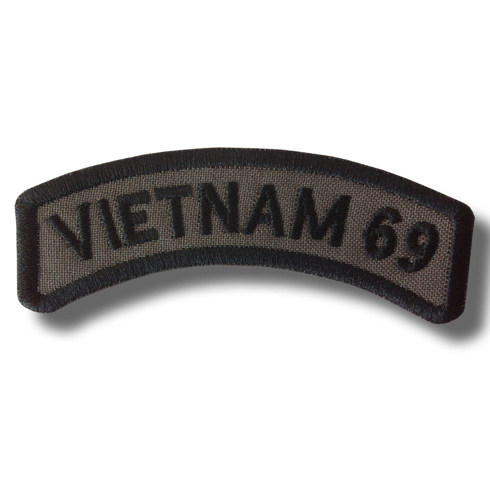 Vietnam 69 - bordado parche, 9 X 3 cm Patch-shop