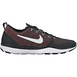 Nike Free Train Versatility Black/White/Action Red Mens Cross Training Shoes