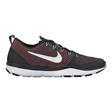 d5e79253560e Image Unavailable. Image not available for. Color  Nike Free Train  Versatility Black White Action Red Men s Cross Training Shoes
