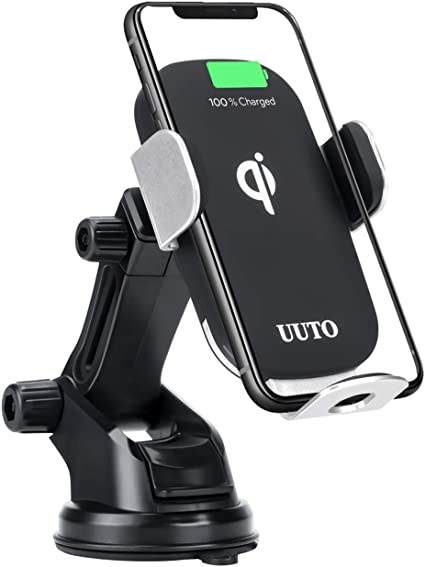 Car Wireless Charger Qi Fast Charging Car Phone Holder Mount