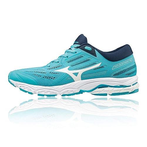 Mizuno Wave Stream 2 Neutralschuh Damen-Türkis, Schwarz, Zapatillas de Running Calzado Neutro para Mujer: Amazon.es: Zapatos y complementos