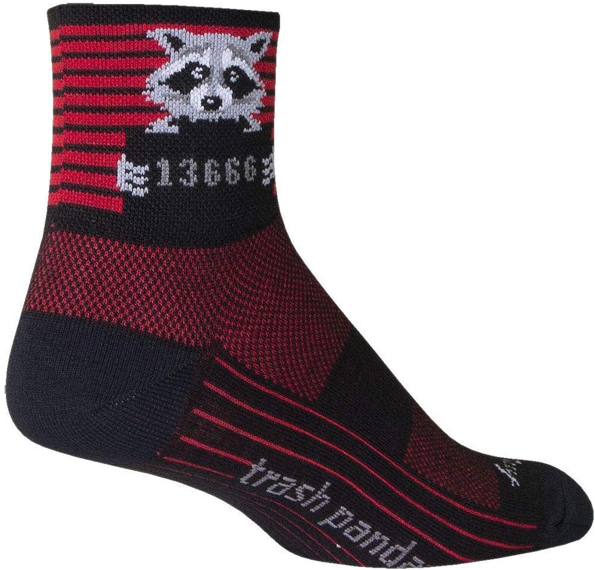 SockGuy Unisex Busted Classic Socks, 3-inch