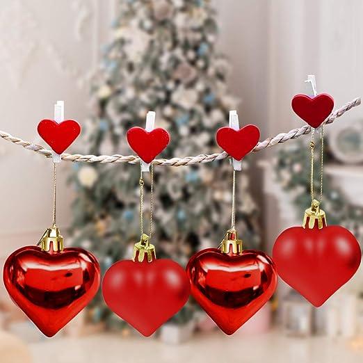 Bola del árbol de Navidad, 12 Piezas Adornos de Adornos ...