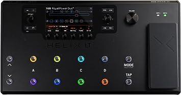 Line 6 Helix LT Pedalera multiefectos para guitarra pedal de expresión 12 Switch