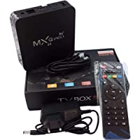 TV BOX SMART ANDOIRD 4K 10.0 5G RAM 4GB + 64GB - MX Q PRO