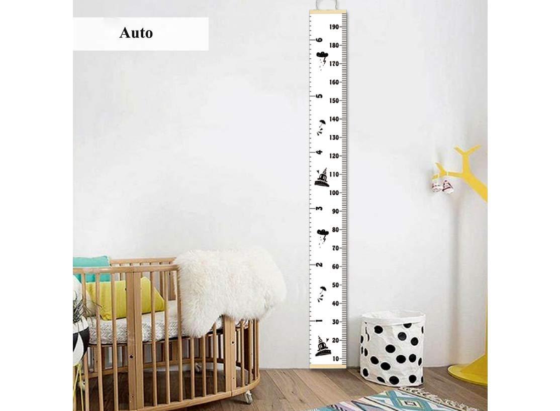 Flamingo 20 * 200cm aus Abnehmbar Leinwand Werden Verwendet um Kinderzimmer zu Dekorieren An Der Wand Montierte Foto-Requisiten Geschenke f/ür Kinder HB.YE Baby Messlatte