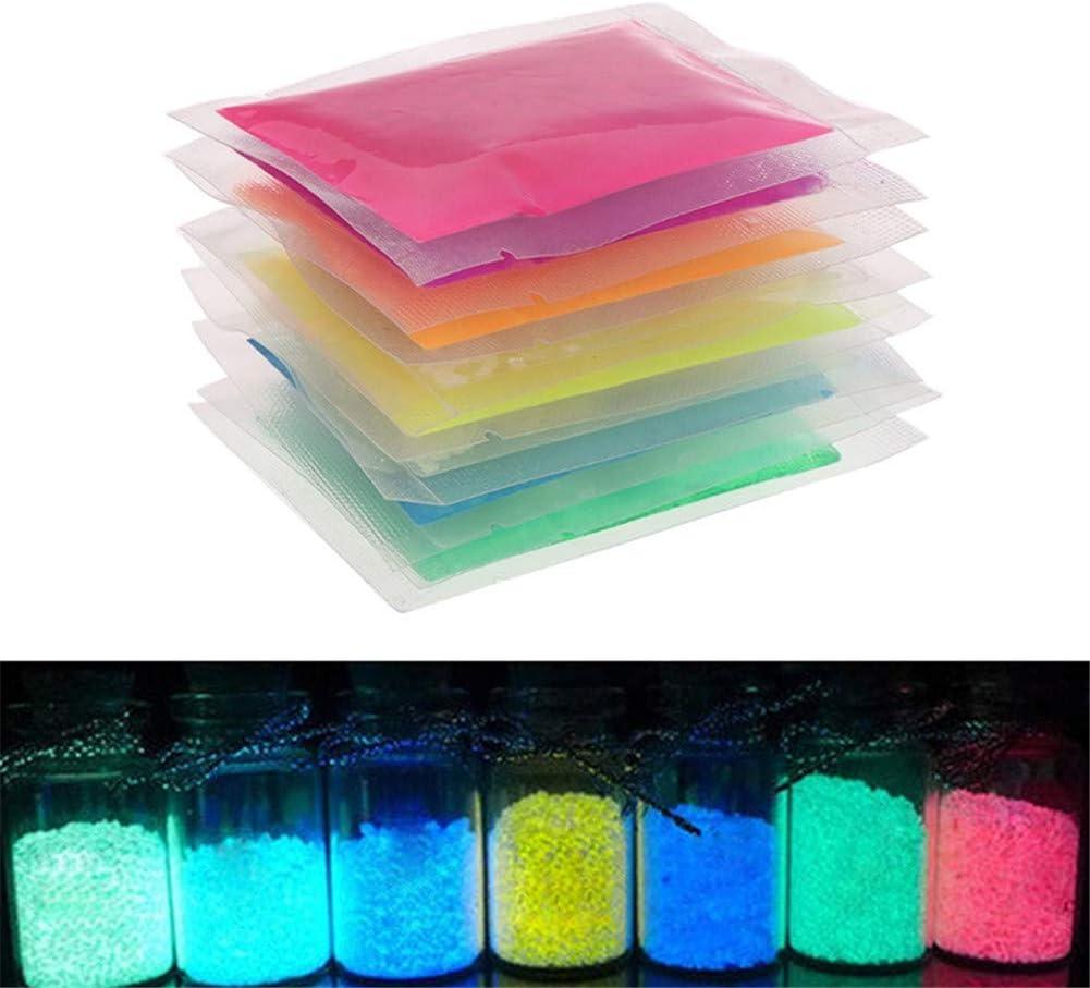 1 pi/èce de Particules de Sable Lumineuses Glow in The Dark Sand Vert Sable Lumineux et Brillant pour Bouteille /à bricoler
