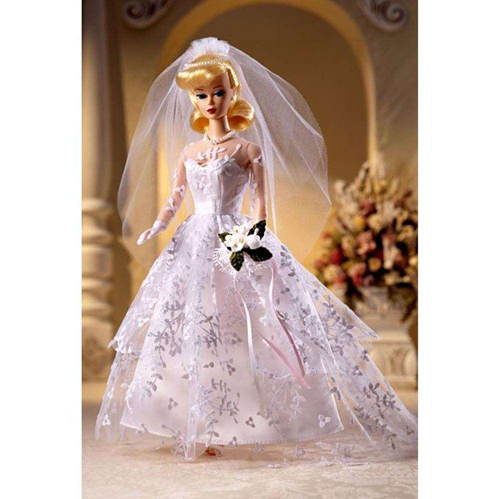 Amazon Barbie Wedding Day 1960 Fashion And Doll Reproduction Collector Edition By Mattel Toys Games: Vintage 1960s Barbie Doll Wedding Dresses At Reisefeber.org