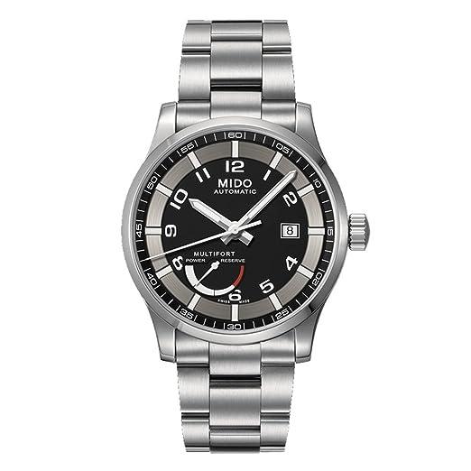 MIDO Multifort Power Reserve Reloj Automático para hombres SWISS m005.424.11.052.02: Amazon.es: Relojes