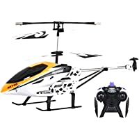 SME Black/Yellow - Colour - Kid's HX 708 Helicopter Remote Control Flying Helicopter with Remote Controller and Unbreakable Blades