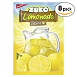 Zuko Adas Limonada Clásica,, 120 g, Display con 8 Sobres