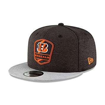 A NEW ERA NFL Cincinnati Bengals Authentic 2018 Sideline 9 Fifty Snapback Road Cap, Unisex, Large/Extra-Large