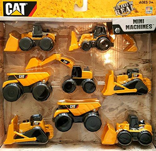 CAT Construction Mini Machine 8 Pack product image