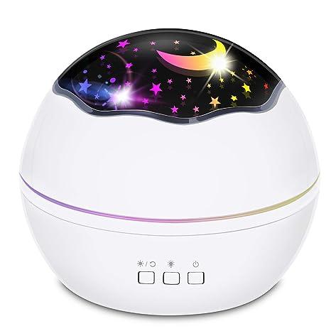 Proyector de luz nocturna Star, Luz nocturna, proyector estrella ...