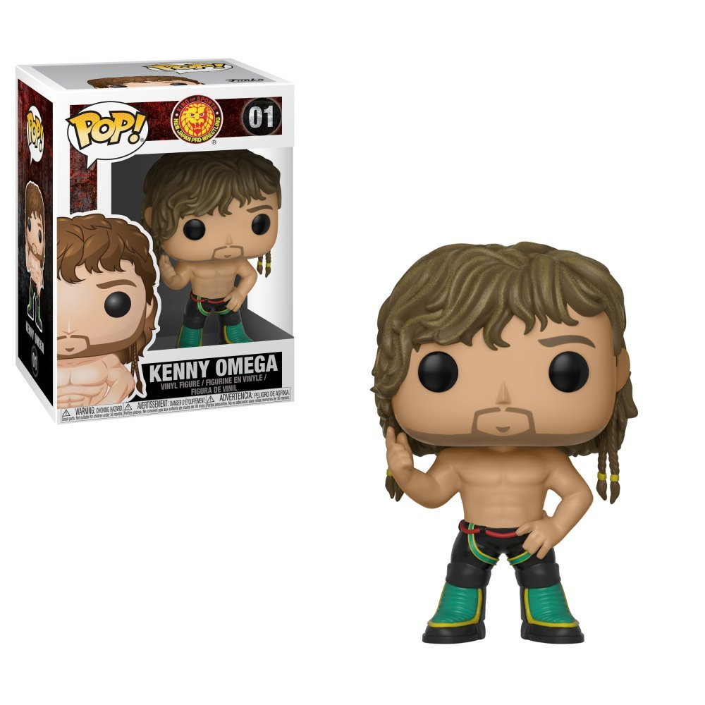 Funko Pop Wrestling: Bullet Club-Omega, Multicolor